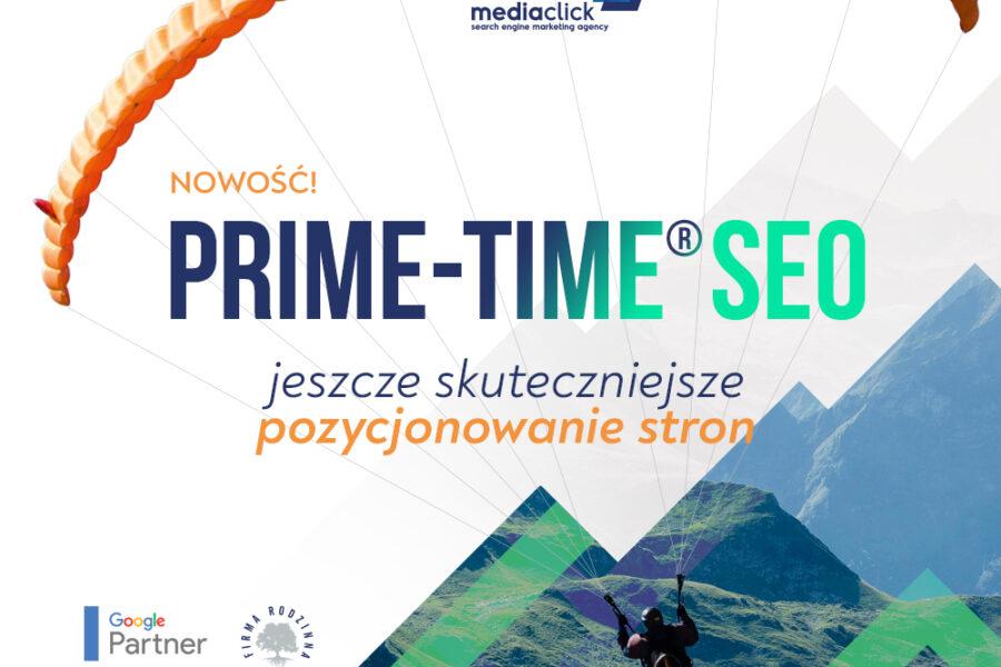 PRIME-TIME® SEO wyższy poziom sprzedaży dla Twojego sklepu
